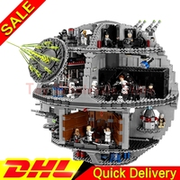 Lepin 05063 4016pcs Genuine New Star War Force Waken UCS Death Star Educational Building Blocks Bricks