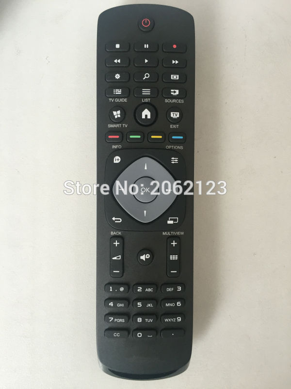 Remote Control for Philips LED Smart TV 40PFH5300/88 32PHT4509/12 40PFH4509 40PFH4509/88 50PFT5300/12 32PFH5300/88 32PFK5300/12