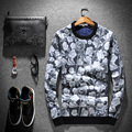 M~3XL! New 2016 Men's clothing Fleece pullover cashmere sweater personalized basic shirt costumes