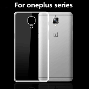 For Oneplus 3t 3 One Plus 3 A3003 2 X Phone Case Cover Accessory Soft Tpu Silicone Transparent Back Protective Coque Fundas Skin(China)