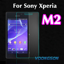 Ultra Thin 0.3mm 2.5D Explosion Proof Premium Tuflite Toughened Tempered Glass Screen Protector Anti-scratch For Sony Xperia M2 nillkin pe explosion proof anti blue light tempered glass screen guard for sony xperia z3 l55t