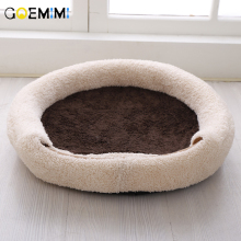 New Arrival Cat Warm Bed Fleece Winter House For Top Quality Pet Sleeping Cave cama para gato Puppy