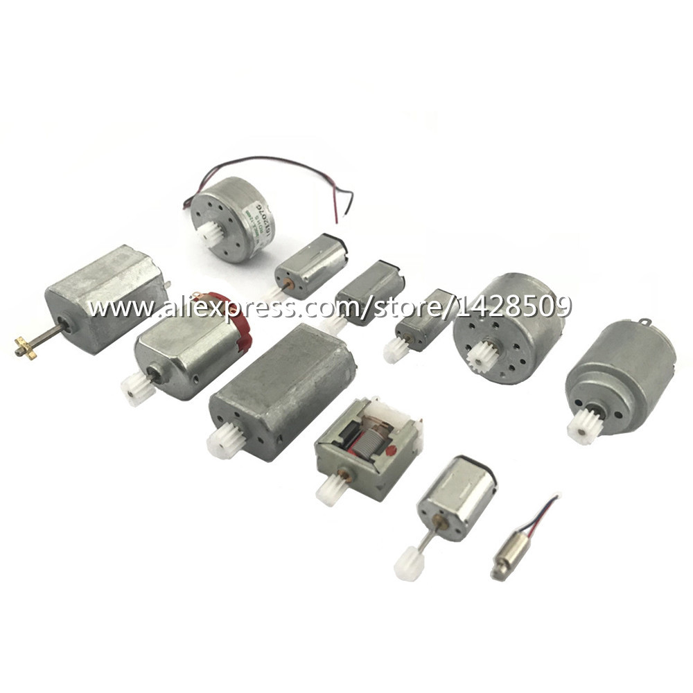 12pcs//lot Magnetic 130 310 motor Solar electric small engine for DIY Accessories