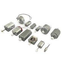 12 шт. различные Микро Мини Мотор постоянного тока с редуктором для DIY двигателя, научно-исследовательские эксперименты, технологии обучения