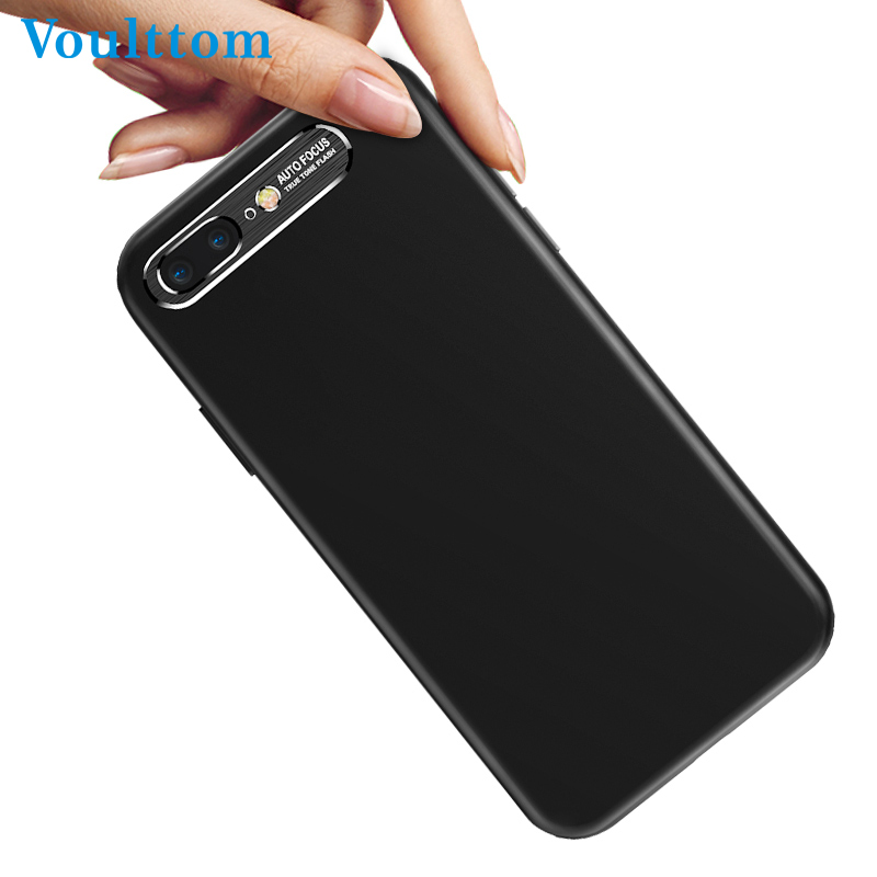 Voulttom Cover Case For iPhone X 7 8 7P 8P Ultra Slim Soft PC+Metal Telefon Case <font><b>Smartphone</b></font> Blade Capa Para <font><b>Accessories</b></font>