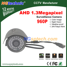 Free shipping! Cost Effective CCTV HD 1.3MP 960P AHD Camera Bullet CCTV Outdoor <font><b>Security</b></font> 36 IR leds Night Vision Analog BNC