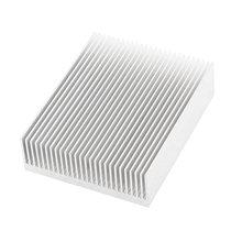 El Tono de plata De Aluminio Del Radiador Del Disipador de calor Del Disipador de Calor 150x80x27mm