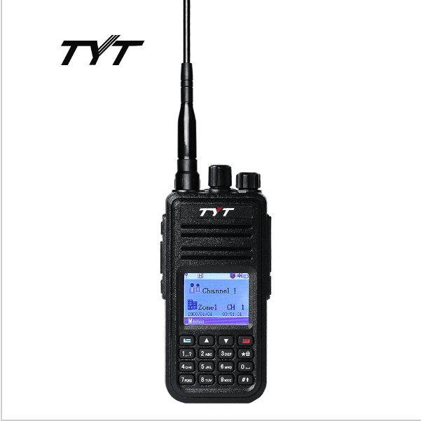 TYT Numérique DMR Mobile Radio TYT MD-380 Tytera Talkie-walkie 1000 Canal Radio Bidirectionnelle Professionnelle UHF 400-480 mhz
