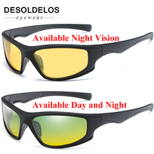 Day Night Vision Polarized Glasses Multifunction Men Sunglasses Reduce Glare Driving Sun Glass Goggles Eyewear oculos