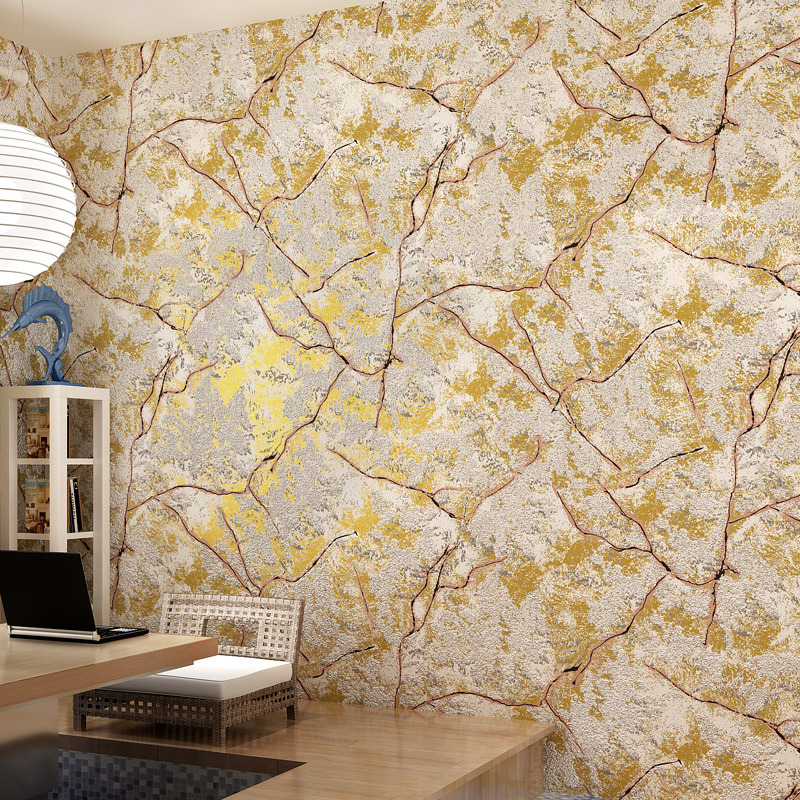 Modern Fashion Lightning Wallpaper 3D Crackle Home Decor Wallpapers ...