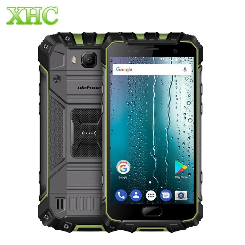 LTE 4g Ulefone Armatura 2 5.0 ''Display FHD Smartphone 6 gb + 64 gb IP68 Impermeabile Octa Core 13MP 16MP Dual SIM GPS NFC Telefoni cellulari e Smartphone