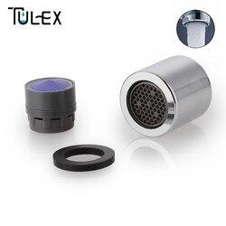 TULEX Wasser Sparende Wasserhahn Belüfter 18mm Innengewinde 6L/MIN Auslauf  Bubbler Filter Befestigung Auf Kran Bad Zubehör