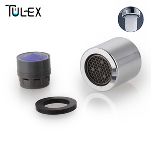 TULEX Water Saving Faucet Aerator 18MM Female Thread 4 - 6L/MIN Spout Bubbler Filter Attachment on Crane Bathroom Accessories