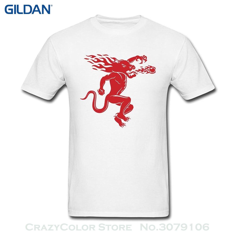 Tshirt Men Black Short Sleeve Cotton Hip Hop T-shirt Print Tee Shirts Fireball Cinnamon Whisky Logo Art T Shirt For Men