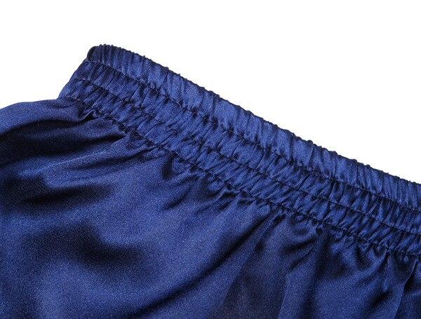 Мужские имитированные шелковые трусы-боксеры нижнее белье домашняя одежда шорты 20 шт./партия#2257