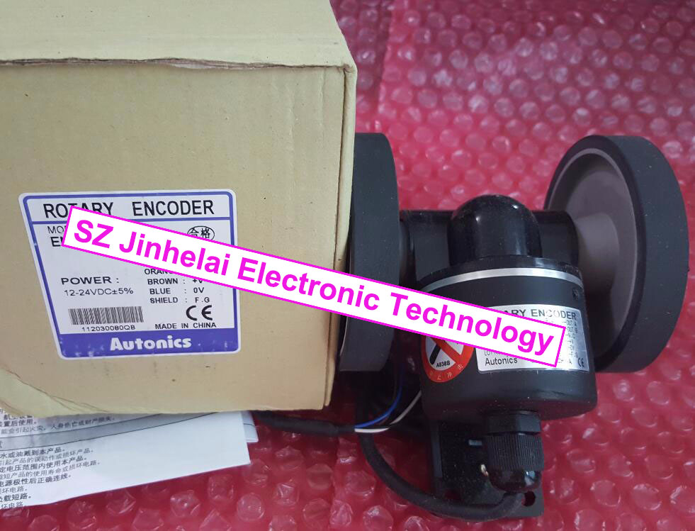 ENC-1-3-T-24, ENC-1-3-N-24 New and original AUTONICS Roller incremental rotary encoder rotary encoder e40hb8 360 3 n 24