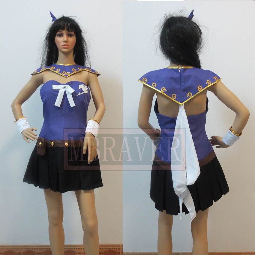 Fairy Tail Lucy Heartphilia Cosplay costume Free Shipping