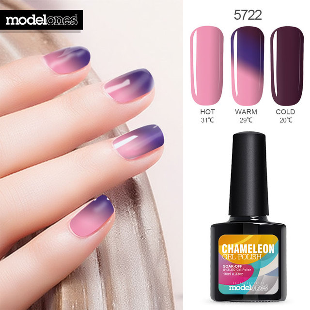 Modelones High Qulaity UV Nail Gel Polish Temperature Nails Varnish ...