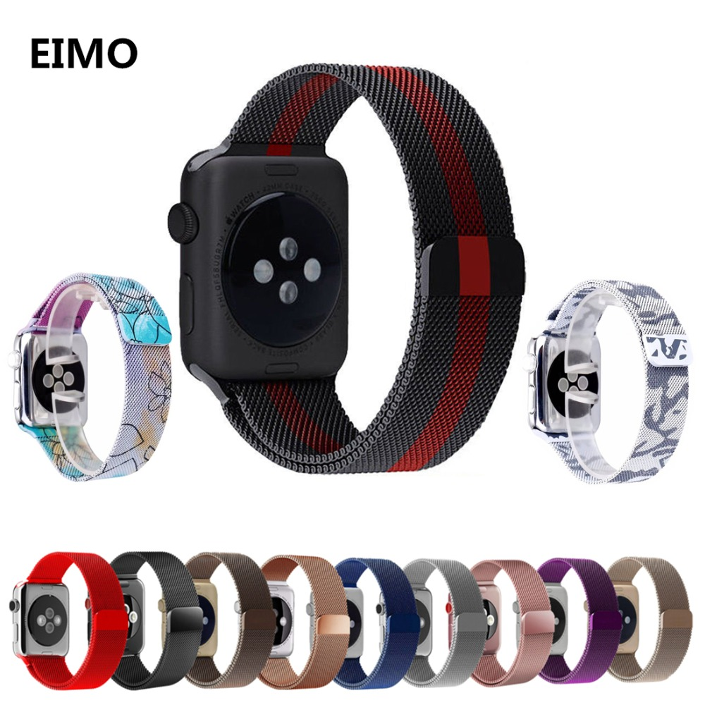 Milanese Loop bands For Apple Watch band strap 42mm/38mm Iwatch series 3/2/1 Stainless Steel Link Bracelet wrist watchband belt milanese loop watch band strap for apple watch 38mm 42mm bracelet belt stainless steel mesh watchband for iwatch series 1 2