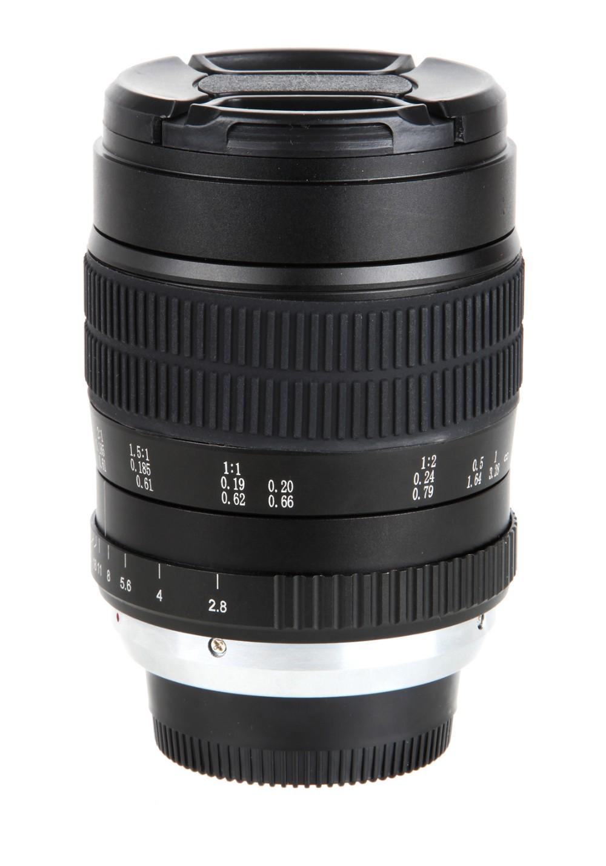 60mm f/2.8 2:1 Super Macro Manual Focus Lens for Nikon F Mount D70 D50 D30 D800 D700 DSLR 4