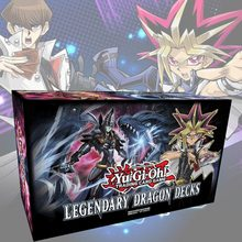 153Pcs/Set Yu Gi Oh Trading Game Cards Legendary Dragon Decks English Yu-Gi-Oh Cards Anime YuGiOh Game Cards For Collection Box(China)