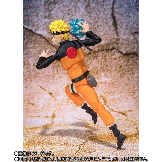 SHFiguarts Anime Naruto Uzumaki Immortal re-model 14cm Action Figure Toys