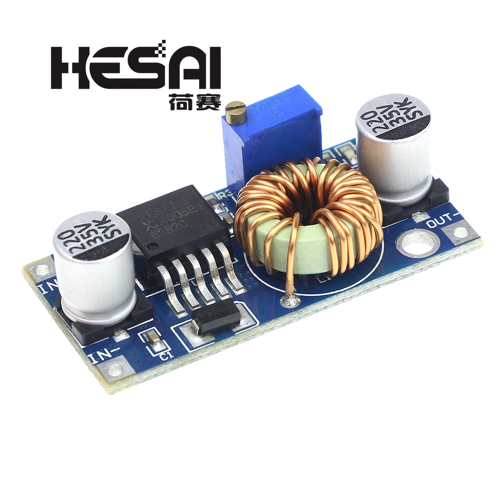 XL4005 5A Max DC-DC Step Down Einstellbare Power Supply Module LED Lithium-Ladegerät Bord Besser Als LM2596