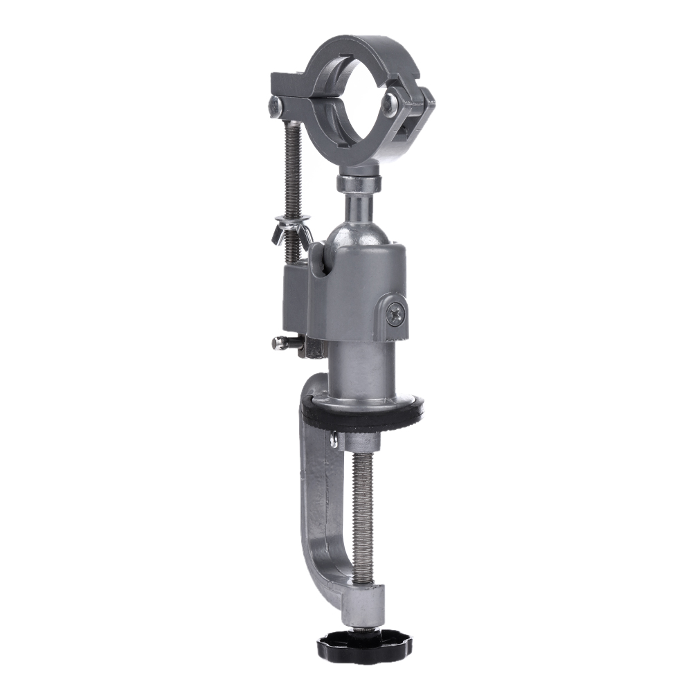 Universal Clamp On Bench Vises Holder Mini 360 Rotating Electric Drill Stand Make The Grinder Flat