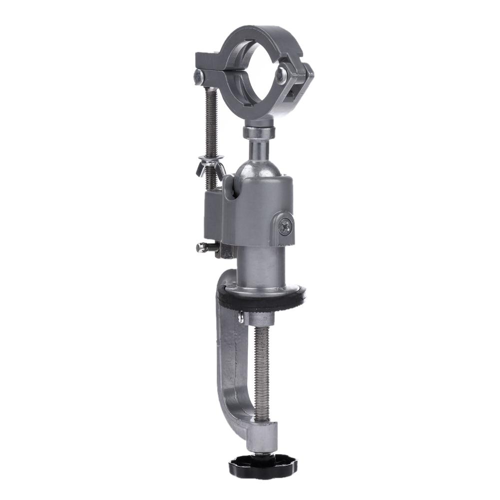 Mini Bohrer Halter Stativklammer-auf Bohrmaschine Bank Zurück 360 Rotierenden Schleifbock Blacket Verwendet für Dremel