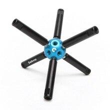 Selens Fotografie Ausrüstung Multifunktionale DIY Magie Ball 3/8 Loch für Studio Stativ Light Stand bracket verbinden stick