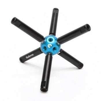 Sprzęt fotograficzny Selens wielofunkcyjny DIY Magic Ball 3 8 otwór do statywu studyjnego lekki wspornik stojakowy podłącz kij tanie i dobre opinie