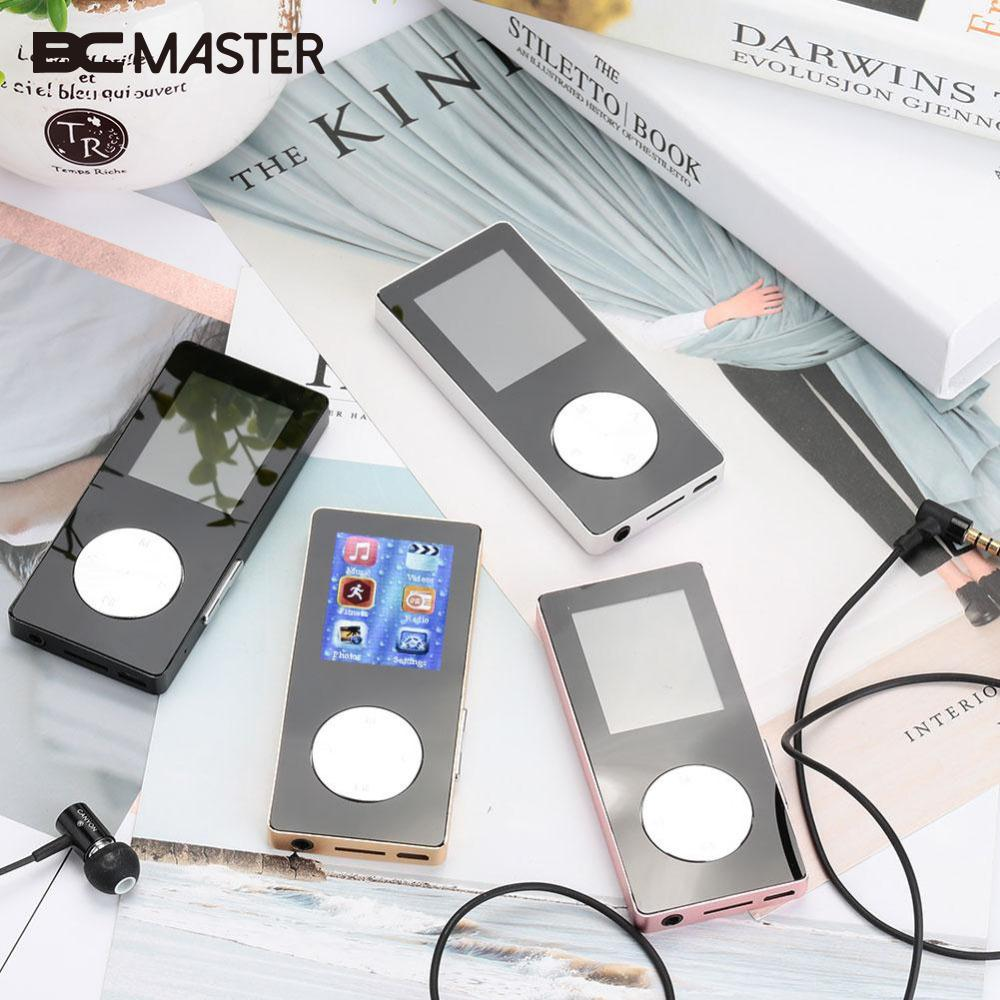 BCMaster high quality 4G Full Metal Hifi Sound MP4 Music Player Recorder Pedometer With Bluetooth USB