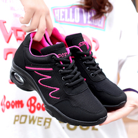 Womens Ballroom Dance Shoes Black Mesh Shoes Dance Women Summer Breathable Square Dance Shoes For Women Sports Trainers