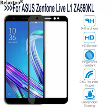 Screen Protector for ASUS Zenfone Live Tempered Glass on the for ZF L1 ZA550Kl Protective Glass Full Cover Film Protective Film protective tempered glass screen protector film guard for asus zenfone 5