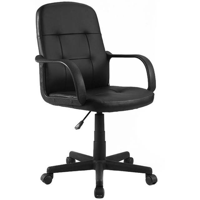 Awesome Us 57 99 Giantex Pu Leather Ergonomic Gaming Chairs Modern Midback Executive Computer Best Desk Task Office Chair Cb10055 On Aliexpress Machost Co Dining Chair Design Ideas Machostcouk