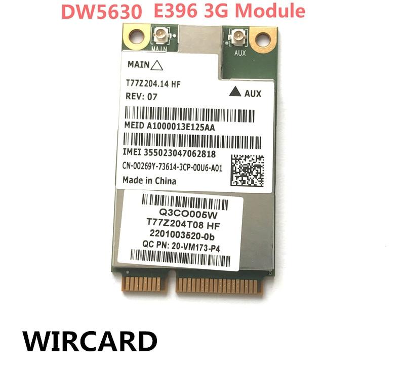 Wireless Adapter Card E396 3G Module For Dell Latitude E6420 E5420 0269Y 00269Y DW5630 5630 Gobi 3000 3G EVDO/WCDMA WWAN