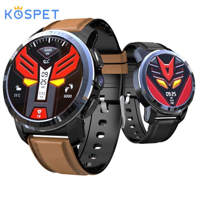 Kospet Optimus montre intelligente 3GB + 32GB 454*454 résolution Android 7.1.1 800W caméra MTK6739 4G GPS WIFI Bluetooth 4.0 Smartwatch