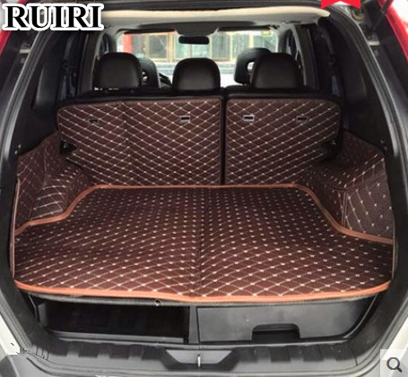Good quality! Special car trunk mats for Nissan X-trail T31 2013-2007 waterproof cargo liner mat boot carpets for XTRAIL 2011