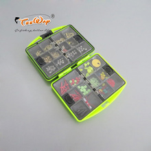 New Product Marine rock fishing tackle boxes containing the fishhooks and fishing float road lure ring and other accessories
