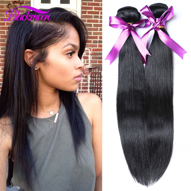Brazilian Virgin Hair Straight Unprocessed Human Virgin Straight Hair Style  Brazilian Hair Straight Weave 4 Bundles