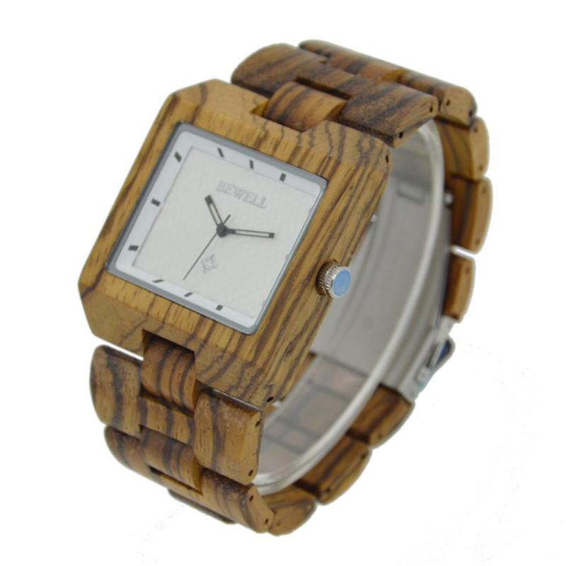 лучшая цена Retro Men Teen Simple Luminous Wood Square Dial Casual Analog Quartz Watch Business Quartz Casual Wood Watches Free Shipping