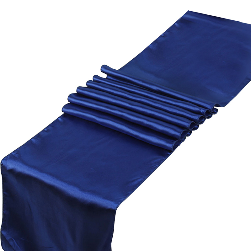 23 Colors Satin Table Runners 12