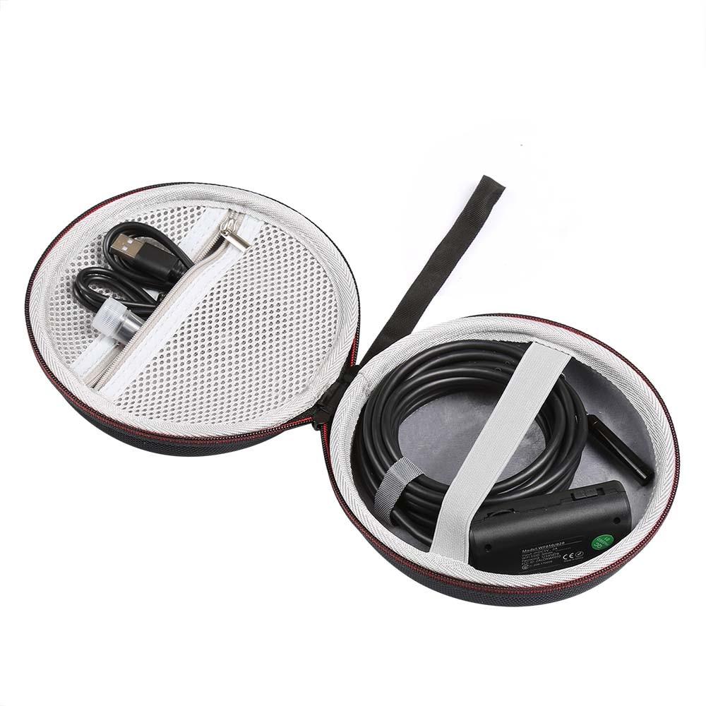 US $8 7 29% OFF|Hard Travel Case for Wireless Endoscope Depstech WiFi  Borescope Inspection Camera 2 0 Megapixels HD Snake Camera(only case)-in  Speaker