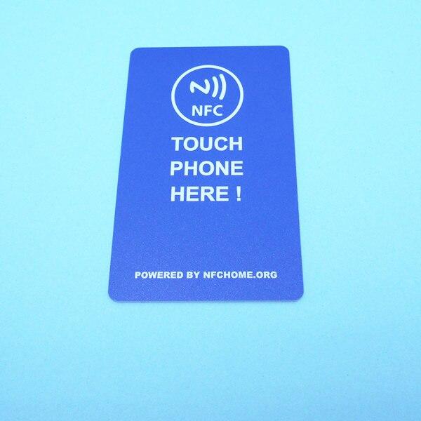 carte de visite nfc ୧ʕ ʔ୨NFC carte de visite 8 K grand mémoire Créer votre propre