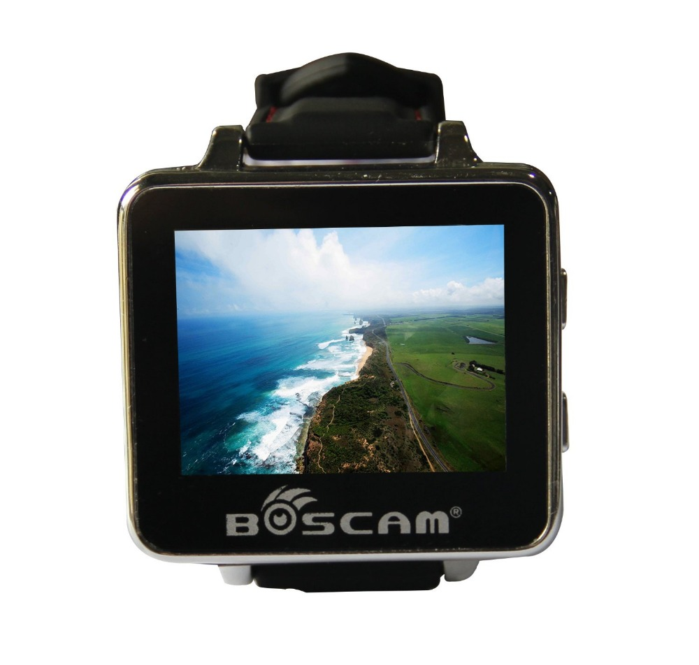 BOSCAM BOS200RC FPV Watch 200RC 5.8GHz 32CH HD 960*240 2 TFT Monitor Wireless Receiver for DIY RC Camera Heli Quadcopter F18526 boscam rc905 fpv 5 8g thunderbolt 32ch wireless receiver free shipping with tracking