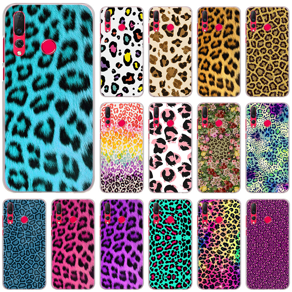 Luxury Leopard color Phone Cases Cover for Huawei Nova 2i 3 3i 3e 4 Mate 10 20 Lite 20 Pro P20 Lite hard PC case Cover