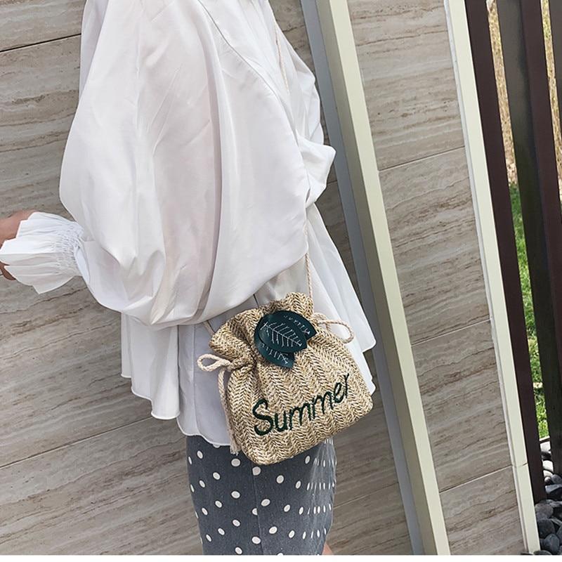Straw bucket bag 3