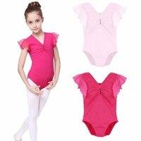 New Sweet Baby Dance Clothes Children Gymnastics Leotard Girls Kids Dance Ballet Underwear Practice Leotard Costumes