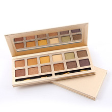 Professional 12 Colors Eyeshadow Palette Matte Shimmer Eye Shadow Earth Color Nude Makeup Pallete Set Eye Make up Cosmetics Kits