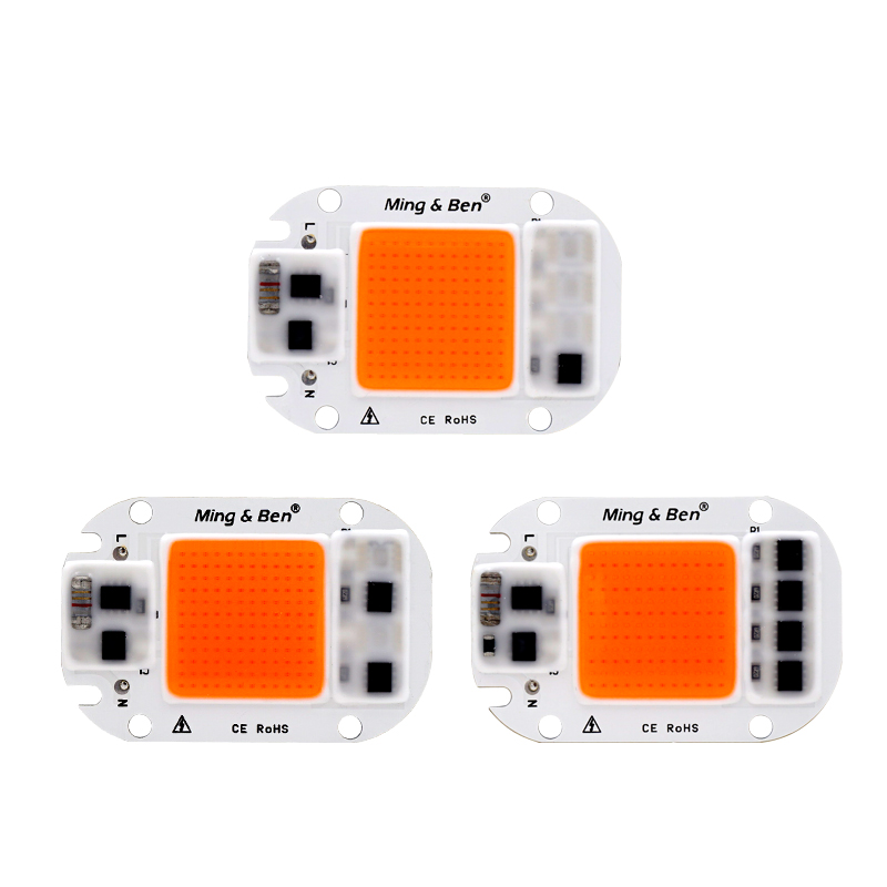 Back To Search Resultslights & Lighting Cob Led Grow Chip Full Spectrum 380nm~780nm 20w 30w 50w Phyto Lamp Led Grow Lights For Seedlings Hydroponics Diy Led Lamp 220v Consumers First